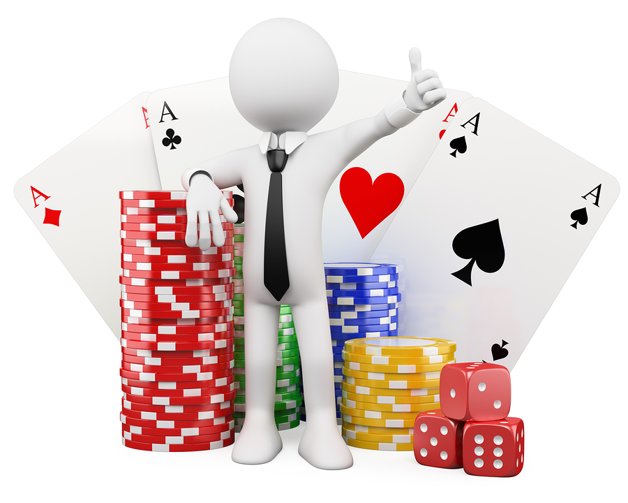 bigstock D White People Casino 33516947 Coolpoker
